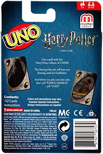 Mattel-Games-UNO-Versione-Harry-Potter-Gioco-di-Carte-FNC42