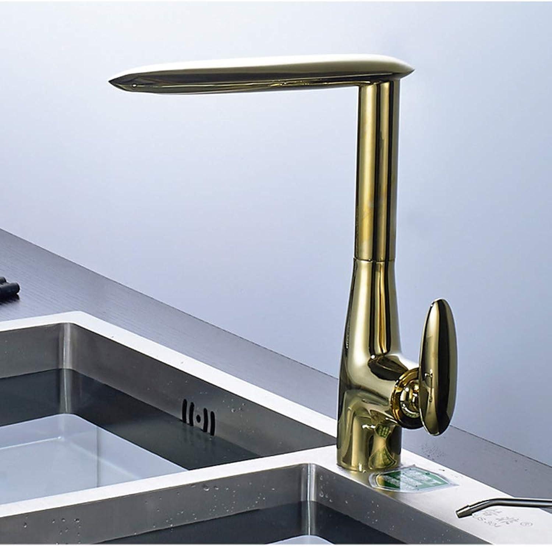 MXK-lampe Pure copper Kitchen Faucet Faucet sink redatable Faucet gold, Black, Silver Creative Faucet Coating,Brass
