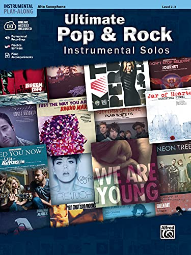 Ultimate Pop & Rock Instrumental Solos: Alto Sax, Book & CD (Ultimate Pop...
