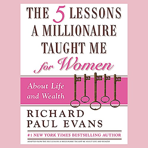 The Five Lessons a Millionaire Taught Me for Women audiobook cover art
