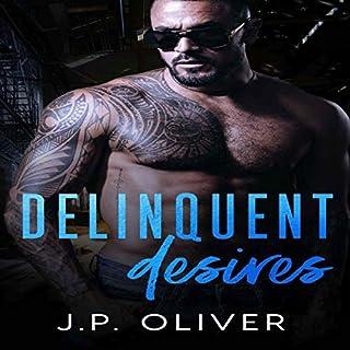 Delinquent Desires audiobook cover art
