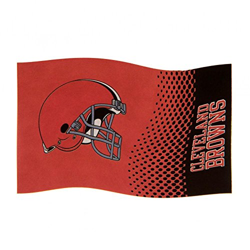 Cleveland Browns Fahne - Flagge 152cm x 91cm NFL Fanartikel Fanshop