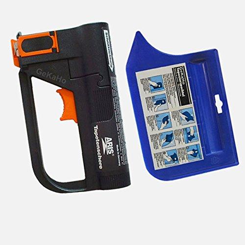 Aris Tapetenschere, Tapezierschere - Set mit Schere und GeKaHo Tapezierspachtel, blau