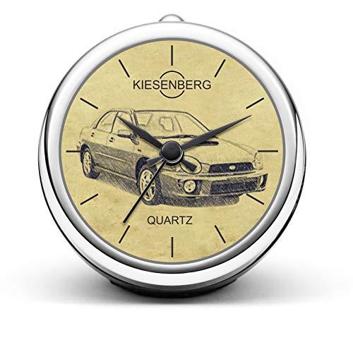 KIESENBERG Design Tischuhr Geschenke für Impreza ab 2000 Fan Uhr T-5234