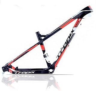 27.5Er Bike Full Carbon Frame 142Mm*12Mm T800 700C Bicycle Frames 15 / 17Inch BB92 Mountain Bike Carbon Fiber Frame Ultral...