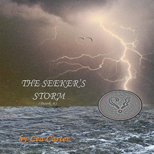 The Seeker's Storm audiobook cover art