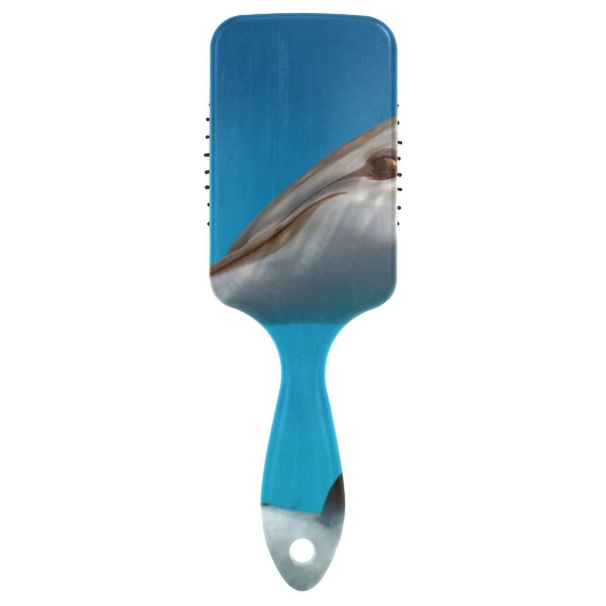 Massage Comb A surprise price is realized Sea Fish Cheap sale Blue Shark Straightene Hairbrush Detangler