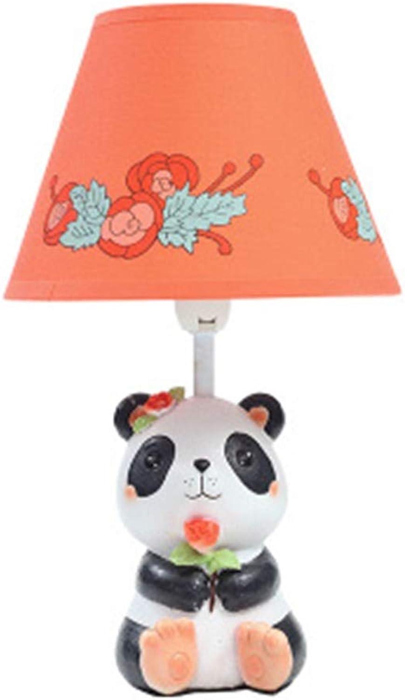 XiuXiu Panda dekorative Tischlampe kreative Schlafzimmer Nachttischlampe niedlichen Cartoon warme Rosa Paar Anpassung Lampen B07HMTY9ZB   Hohe Qualität und Wirtschaftlichkeit