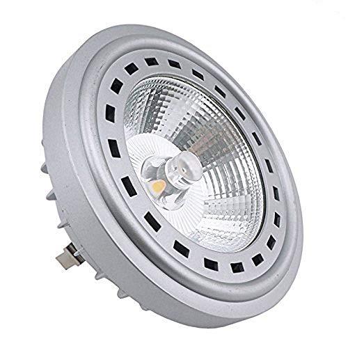 Bonlux 12W LED AR111 12V Bianco 2700K 24 gradi Cree COB LED AR111 G53 riflettore della lampada alogena da 75W sostituzione caldo