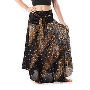 BANJAMATH@ Falda larga de estilo bohemio para mujer | DeHippies.com