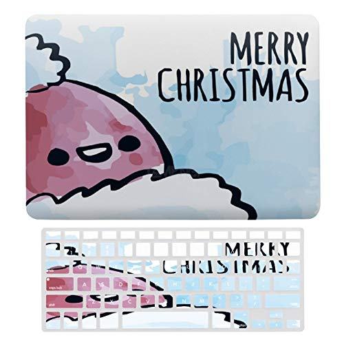 Plastic Hard Shell Case & Keyboard Cover Compatible with MacBook Air 13 inch/MacBook Air Pro 13' (Models: A1369 & A1466/ A2159/A1989/A1706), MerryChristmas