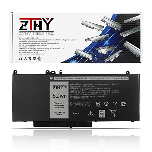 62WH 6MT4T Laptop Battery for Dell Latitude E5470 E5570 E5270 Precision 15 3510 P48F001 Mobile Workstation WYJC2 VMKXM 7V69Y TXF9M 0C1P4 79VRK 07V69Y 535NC HK6DV 451-BBTW 451-BBUN 451-BBUQ P62G001
