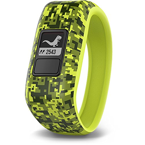 Garmin Vivofit JR., 0.39 inches, Digi Camuflaje (Renewed)