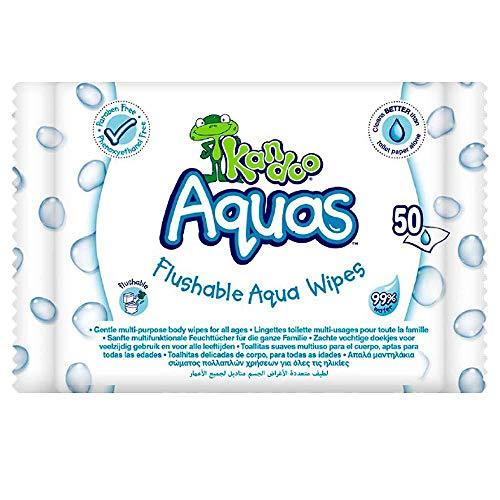 Dodot Kandoo Aquas Handtücher Heomedas 99% Wasser 50 Stück - 5 ml