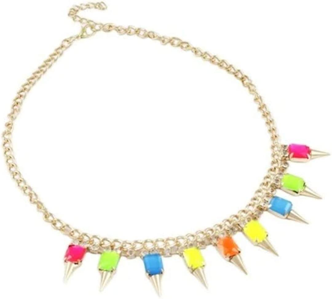 Crafting with Love A Zinc for Daily In stock specialty shop Necklace USE. Alloy