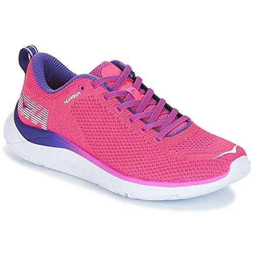 HOKA ONE ONE Womens Hupana 2 Running Sneaker (6, Hot Pink/Fuchsia)