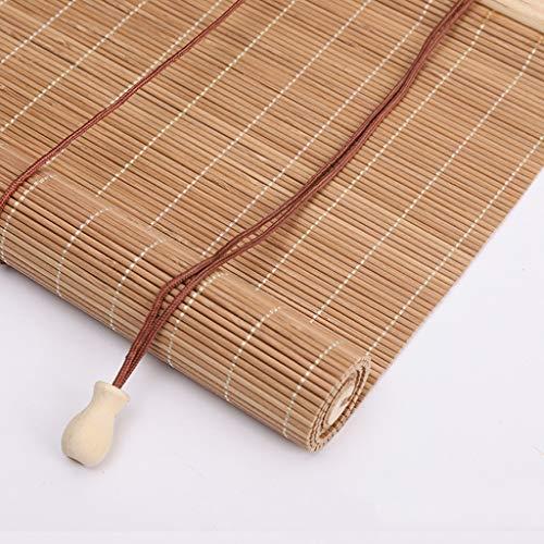 Die Vorhänge für die Jalousien aus Bambus, die Rollos werden manuell aufgezogen, die Türvorhänge atmungsaktiv und gegen Mücken können an verschiedenen Orten verwendet werden.