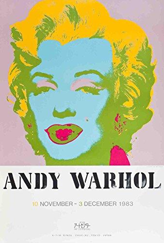 Andy warhol-marilyn monroe-1983Serigraph