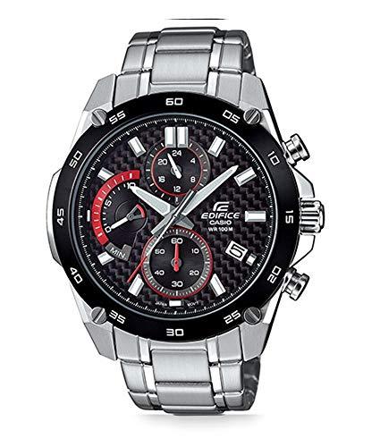 Casio Reloj Analogico para Hombre de Cuarzo con Correa en Acero Inoxidable EFR-557CDB-1AVUEF