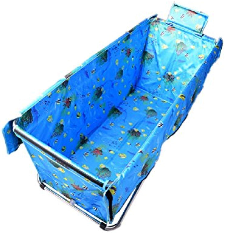 schuhe stool ZI LING Shop- Erhhen Sie die faltende verlngerte Badewanne, die Bad-Fass-Erwachsene thermische Bad-Duschwanne Nicht-aufblasbares Haus verdickt (gre   S)