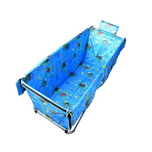 Verhoog De Folding Verlengde Bathtub verdikking Bath Barrel volwassen Thermal Bath douchebak Niet-opblaasbare Huis (Size : S)