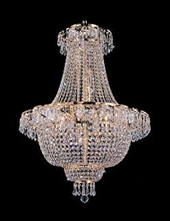 French Empire Crystal Chandelier Chandeliers Lighting H 30