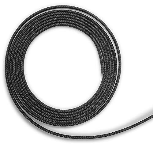 Kamindichtung selbstklebend 3m, ø 8x2mm Flach-Kordel Dichtband. Passend für verschiedene Olsberg Kamin Modelle