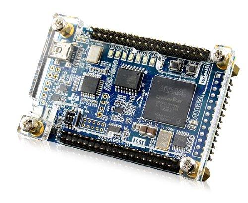 P0082-Development Kit, Altera Cyclone IV-FPGA, DE0-Nano, 2 GPIO-Stiftleisten, 32MB SDRAM, Beschl.messer