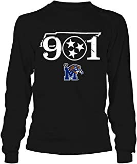 Memphis Tigers T-Shirt - 901 State Outline