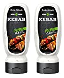 Body Attack Sports Nutrition, Grill Saucen, 2 x 320ml (Kebab)