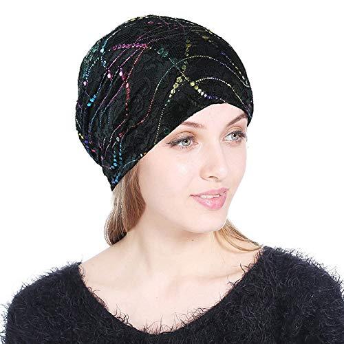 Lace Beanies chemotherapeutische caps kanker, gebreide muts voor dames, haarcovers, nachtslaap
