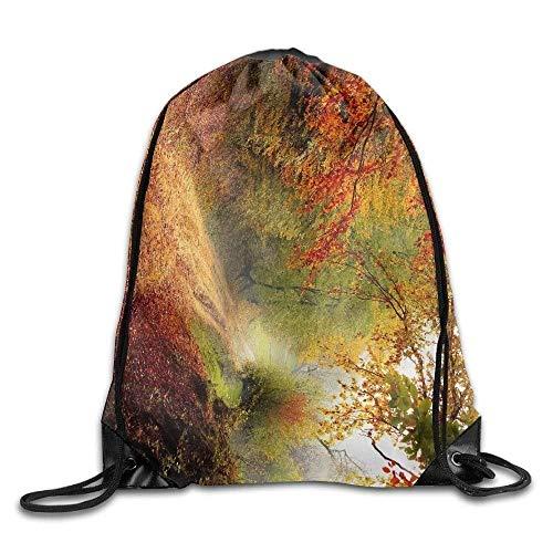 Sporttasche mit Kordelzug, Sportrucksack, Reiserucksack, Bowling Ball Striking Pins Vector Art Illustration Unisex Home Rucksack Shoulder Bag Travel Drawstring Backpack Bag