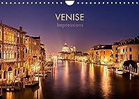 Venise Impressions (Calendrier mural 2022 DIN A4 horizontal): Voyage photographique à travers la romantique ville des lagunes. (Calendrier mensuel, 14 Pages )