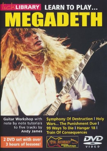 Learn to play Megadeath [Reino Unido] [DVD]