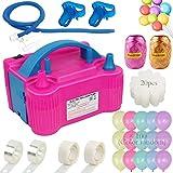 Best Pcs With Balloons Pumps - OurWarm 130Pcs Balloon Pump Electric Portable Dual Nozzle Review