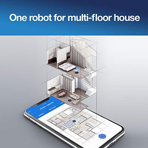 ECOVACS DEEBOT OZMO 950 – Saug- & Wischroboter – 2-in-1 Staubsauger-Roboter mit Wischfunktion & intelligenter Navigation – Google Home, Alexa- & App-Steuerung - 3