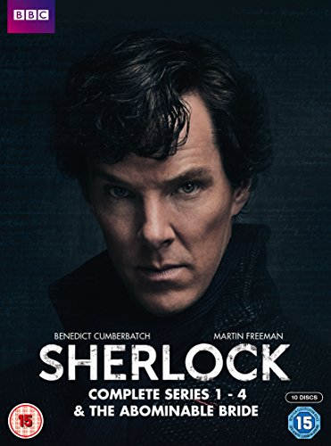 Sherlock - Series 1-4 & Abominable Bride Box Set [10 DVDs] [UK Import]