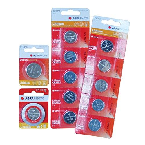Agfa AGFA CR2016 Lithium Coin Battery (Emballage de 1)