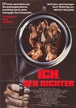 I the Jury Movie Poster (27 x 40 Inches - 69cm x 102cm) (1982) German -(Armand Assante)(Barbara Carrera)(Laurene Landon)(Alan King)(Geoffrey Lewis)(Paul Sorvino)