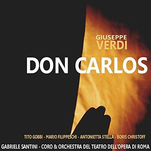Coro e Orchestra del Teatro dell 'Opera di Roma, Tito Gobbi, Mario Filippeschi, Antonietta Stella & Boris Christoff