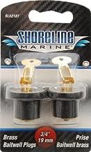 Shoreline Marine Brass Pr Baitwell Plug