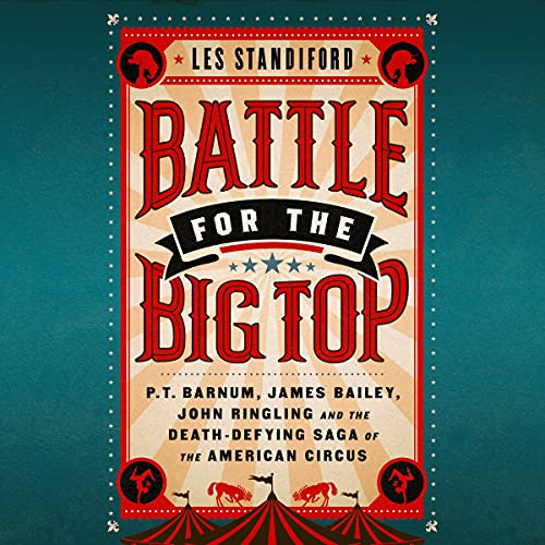 Battle for the Big Top cover art