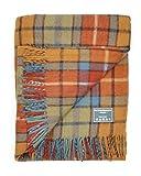 The Tartan Blanket Co. Recycled Wool Blanket Buchanan Antique Tartan (59' x 75')
