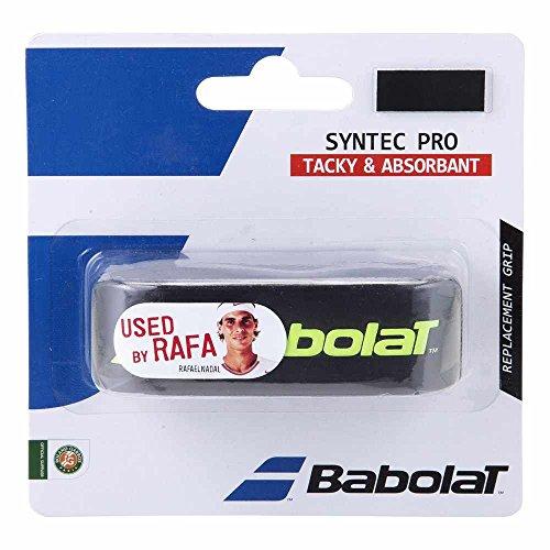 Babolat Syntec Pro X 1 Accesorio Raqueta de Tenis, Unisex Adulto, Black, Talla Única