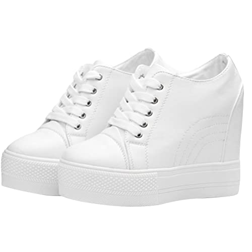 ACE SHOCK Wedges Sneakers for Women White dc41b75445
