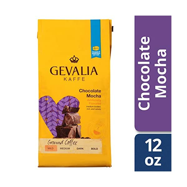 Gevalia Chocolate Mocha K-cup Pods - Pack of 6