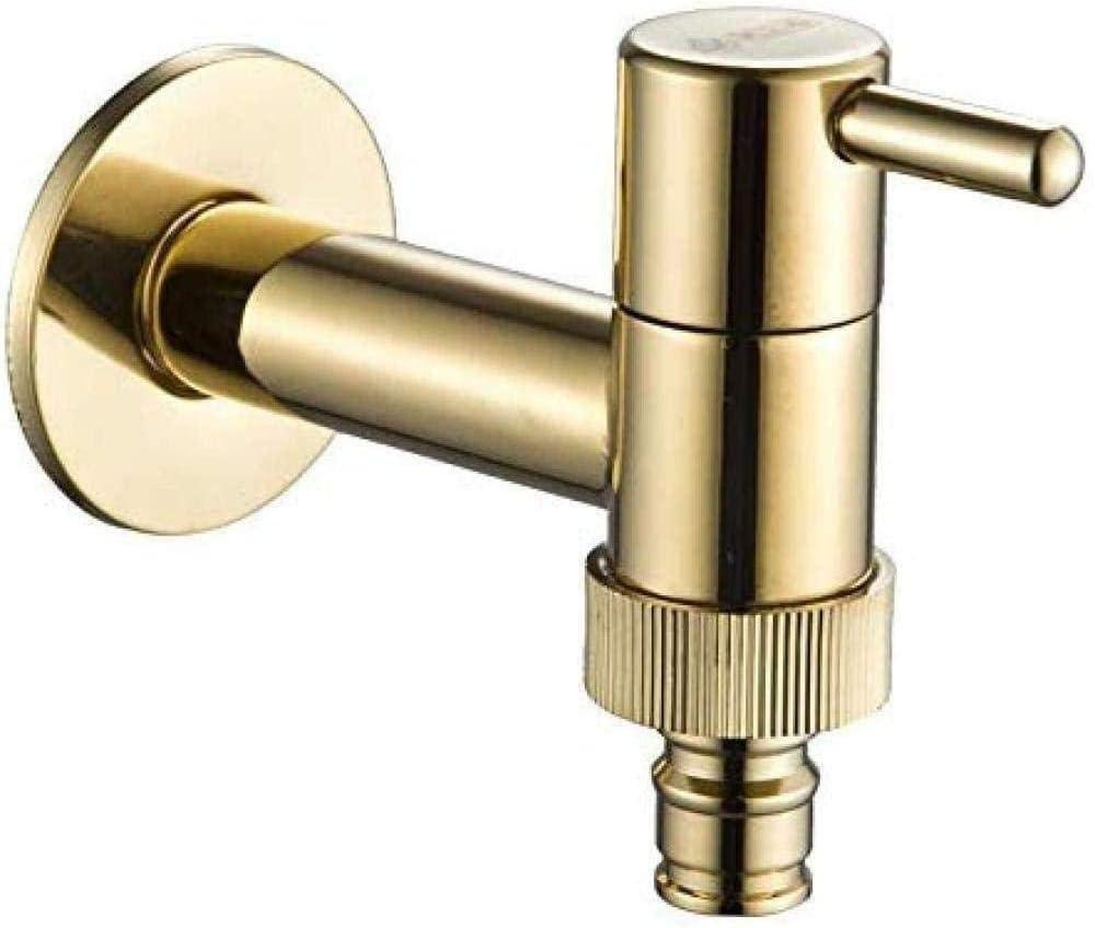 Garden Ranking TOP12 Faucet Washing Machine Golden Solid Sink Brass F Financial sales sale