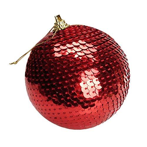 tulipit Ornamenti per Palle di Natale in Scala Pendente per Albero di Natale per Decorazioni per Feste di Nozze Adatto per Negozio Famiglia KTV Bar Newcomer