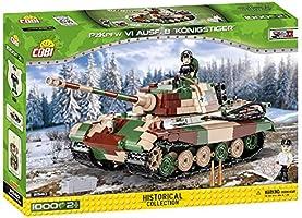 """Cobi 2540 Klocki Cobi- 2540 Pzkpfw Vi Ausf.B """"Königstiger"""" ,różne"""