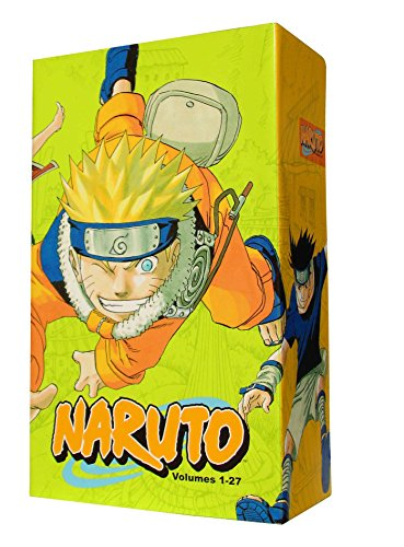 Naruto Box Set 1: Volumes 1-27: Volumes 1-27 with Premium (Naruto Box Sets, Band 1)
